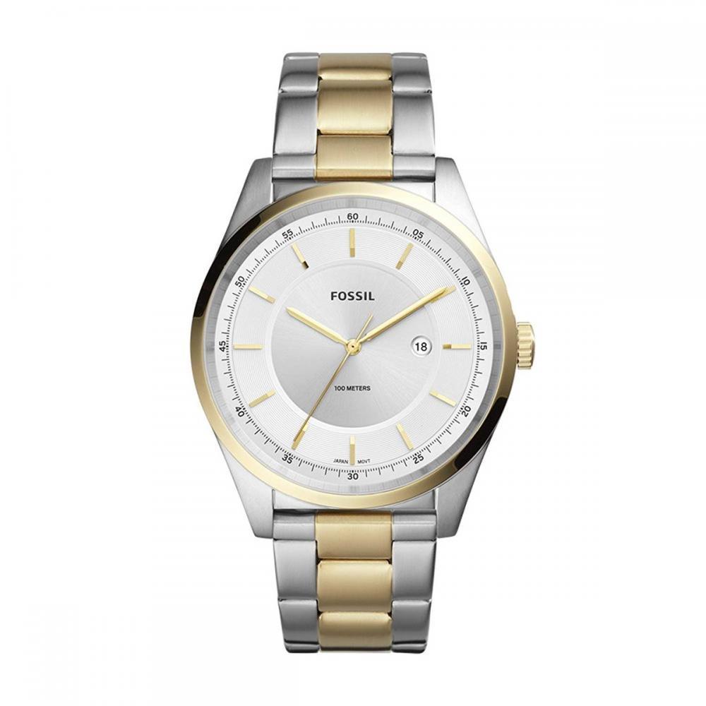 フォッシル 腕時計 メンズ Fossil Men's Mathis Quartz Watch with Stainless-Steel Strap, Gold, 21 (Model: FS5426)フォッシル 腕時計 メンズ