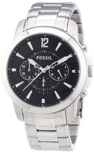 フォッシル 腕時計 メンズ 【送料無料】Fossil Men's FS4532 Stainless Steel Bracelet Black Analog Dial Chronograph Watchフォッシル 腕時計 メンズ