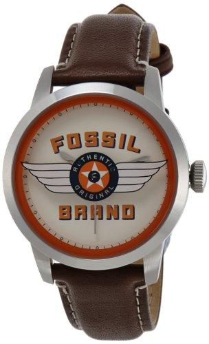 フォッシル 腕時計 メンズ 【送料無料】Fossil Men's FS4896 Townsman Analog Display Analog Quartz Brown Watchフォッシル 腕時計 メンズ