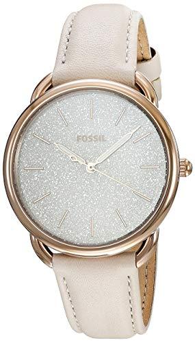 腕時計 フォッシル レディース 【送料無料】Fossil Women's Tailor Stainless Steel Quartz Leather Strap, Grey, 16 Casual Watch (Model: ES4421)腕時計 フォッシル レディース
