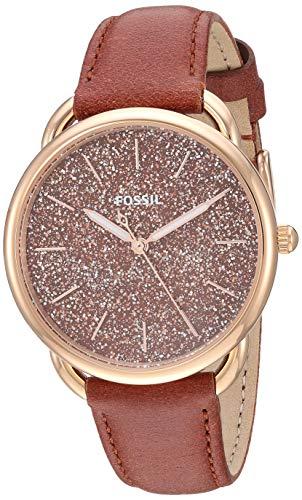 フォッシル 腕時計 レディース 【送料無料】Fossil Women's Tailor Stainless Steel Quartz Leather Strap, Brown, 16 Casual Watch (Model: ES4420)フォッシル 腕時計 レディース