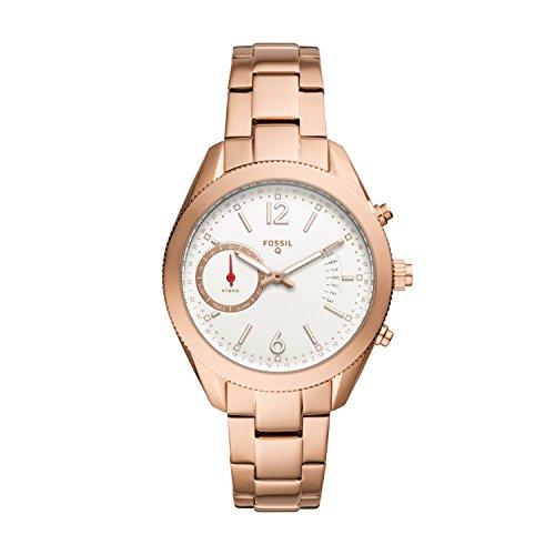 フォッシル 腕時計 レディース 【送料無料】Fossil Q Women's Alyx Rose Gold-Tone Stainless Steel Hybrid Smartwatch FTW1168フォッシル 腕時計 レディース