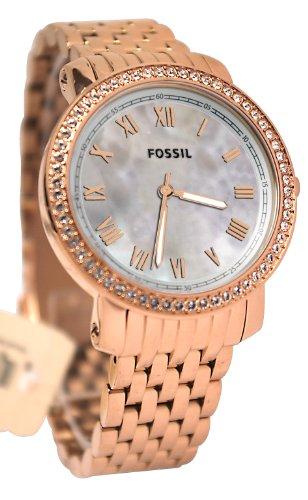 フォッシル 腕時計 レディース 【送料無料】Fossil Women's ES3186 Emma Rose Tone Stainless Steel Watchフォッシル 腕時計 レディース