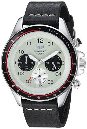 ベスタル ヴェスタル 腕時計 レディース 【送料無料】Vestal ZR2 Leather Stainless Steel Japanese-Quartz Watch Strap, Black, 20 (Model: ZR243L03.BKWH)ベスタル ヴェスタル 腕時計 レディース