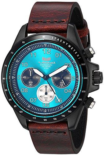 ベスタル ヴェスタル 腕時計 レディース Vestal ZR2 Leather Stainless Steel Japanese-Quartz Watch Strap, Brown, 20 (Model: ZR243L26.CVBK)ベスタル ヴェスタル 腕時計 レディース