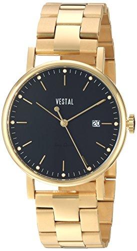 ベスタル ヴェスタル 腕時計 レディース 【送料無料】Vestal Unisex SP36M02.3GDX Sophisticate 36 Metal Analog Display Swiss Quartz Gold Watchベスタル ヴェスタル 腕時計 レディース