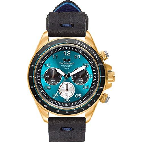 ベスタル ヴェスタル 腕時計 メンズ Vestal ZR-2 Makers Watch | Black-Blue/Gold/Tealベスタル ヴェスタル 腕時計 メンズ