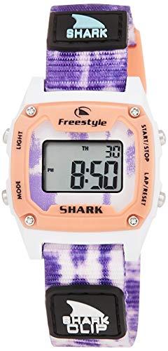 腕時計 フリースタイル メンズ 夏の腕時計特集 【送料無料】Freestyle Shark Mini Clip Tie-Dye Purple Burst Unisex Watch FS101019腕時計 フリースタイル メンズ 夏の腕時計特集