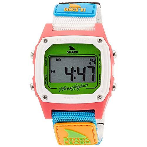 フリースタイル 腕時計 メンズ アウトドアウォッチ特集 【送料無料】Freestyle Shark Classic Leash Since '81 Neon 2.0 Unisex Watch FS101008フリースタイル 腕時計 メンズ アウトドアウォッチ特集