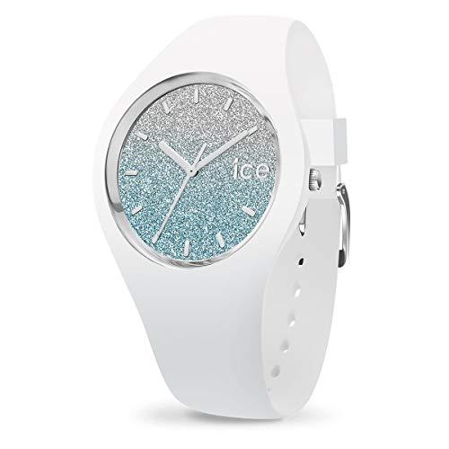 アイスウォッチ 腕時計 レディース かわいい Ice-Watch - ICE lo White Blue - Women's Wristwatch with Silicon Strap - 013425 (Small)アイスウォッチ 腕時計 レディース かわいい