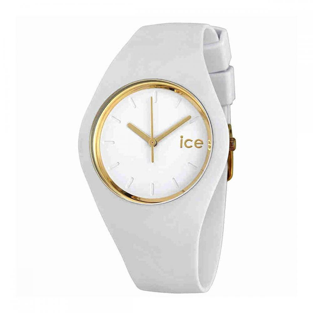 アイスウォッチ 腕時計 レディース かわいい 夏の腕時計特集 【送料無料】Ice-Watch ICE GLAM White 000917 Medium Unisex Watchアイスウォッチ 腕時計 レディース かわいい 夏の腕時計特集