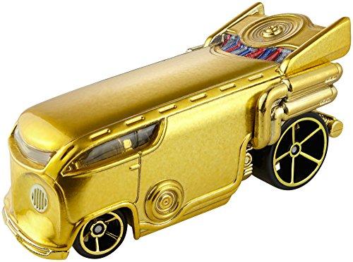 ホットウィール マテル ミニカー ホットウイール 【送料無料】Hot Wheels Star Wars Character Car C3PO Vehicleホットウィール マテル ミニカー ホットウイール
