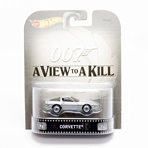 ホットウィール マテル ミニカー ホットウイール 【送料無料】Hot Wheels Corvette James Bond 007