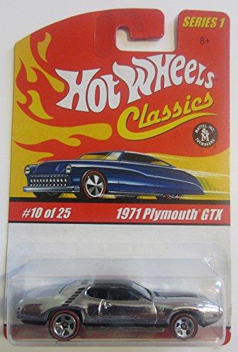 ホットウィール マテル ミニカー ホットウイール 1971 Plymouth GTX Hot Wheels Classics Series 1 - Silver 10 of 25ホットウィール マテル ミニカー ホットウイール