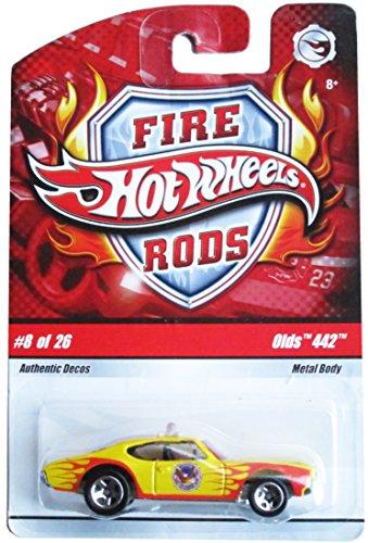 ホットウィール マテル ミニカー ホットウイール 【送料無料】Hot Wheels FIRE RODS: OLDS 442 (#8 of 26) - 1/64 scale diecast carホットウィール マテル ミニカー ホットウイール