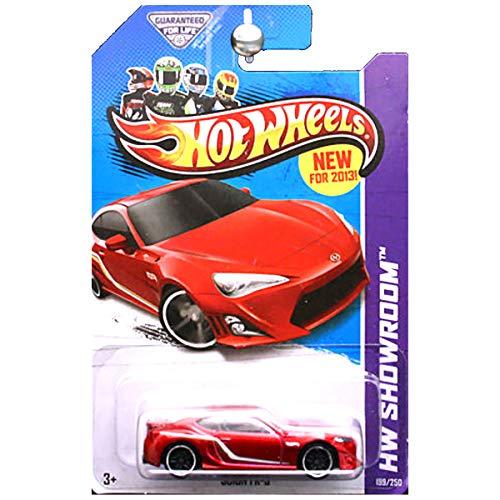 ホットウィール マテル ミニカー ホットウイール 【送料無料】Hot Wheels 2013 HW Showroom Scion FR-S FRS in Redホットウィール マテル ミニカー ホットウイール