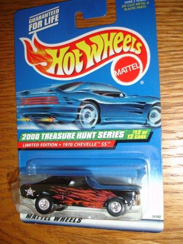 ホットウィール マテル ミニカー ホットウイール 【送料無料】Hot Wheels Treasure Hunt 1970 Chevelle SSホットウィール マテル ミニカー ホットウイール