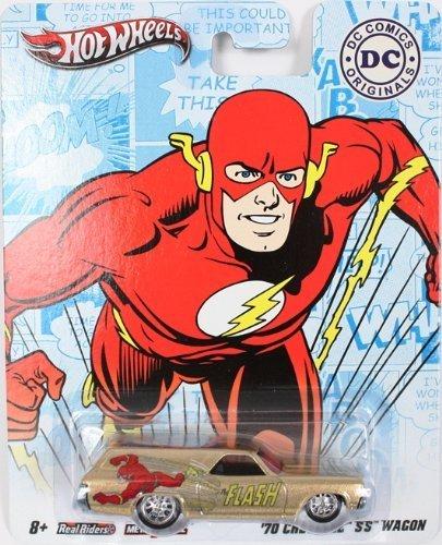 ホットウィール マテル ミニカー ホットウイール 【送料無料】THE FLASH '70 CHEVELLE SS WAGON Hot Wheels DC Comics Originals 2011 Nostalgia Series 1:64 Scale Die-Cast Vehicleホットウィール マテル ミニカー ホットウイール