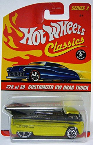 ホットウィール マテル ミニカー ホットウイール 【送料無料】Hot Wheels Classics Series 2 Customized VW Drag Truck 25/30 Collector Carホットウィール マテル ミニカー ホットウイール