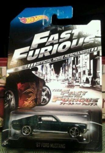 ホットウィール マテル ミニカー ホットウイール 【送料無料】2014 Hot Wheels The Fast and the Furious Official Movie Merchandise Limited Edition '67 Ford Mustang 4/8ホットウィール マテル ミニカー ホットウイール