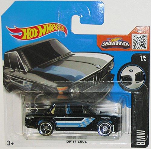 ホットウィール マテル ミニカー ホットウイール 【送料無料】California-Toys.com BMW 2002 Hot Wheels 2016 BMW Series Black 2002 1:64 Scale Collectible Die Cast Metal Toy Car Model #1/5 on Internationalホットウィール マテル ミニカー ホットウイール