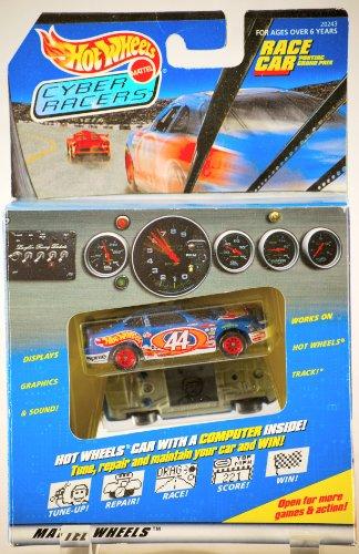 ホットウィール マテル ミニカー ホットウイール 【送料無料】1997 - Mattel - Hot Wheels / Cyber Racers - Pontiac Grand Prix Race Car - Mattel Wheels - #44 Car w/ Game Computer Inside - Graphics & Soundホットウィール マテル ミニカー ホットウイール