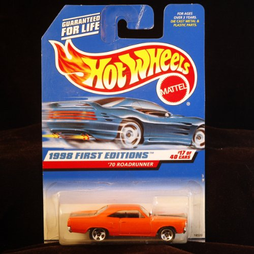 ホットウィール マテル ミニカー ホットウイール 【送料無料】Hot Wheels 1998 First Editions - 1:64 Die-Cast 1970 Roadrunner (#17 of 40 cars) - Collector #661ホットウィール マテル ミニカー ホットウイール