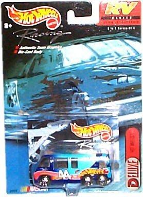 ホットウィール マテル ミニカー ホットウイール Hot Wheels Racing - NASCAR - RV Series - Deluxe: Hot Wheels #44 - GMC Motor Home (Blue)ホットウィール マテル ミニカー ホットウイール
