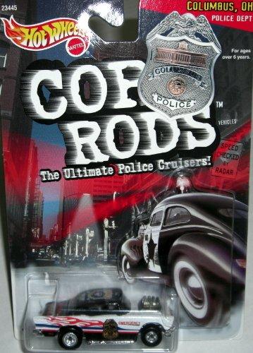 ホットウィール マテル ミニカー ホットウイール 【送料無料】Hot Wheels 1999 Cop Rods: Columbus OH '57 Chevyホットウィール マテル ミニカー ホットウイール