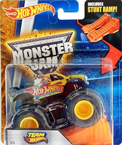ホットウィール マテル ミニカー ホットウイール Monster Jam Hot Wheels 1:64 2016 Team Hot Wheels #12ホットウィール マテル ミニカー ホットウイール