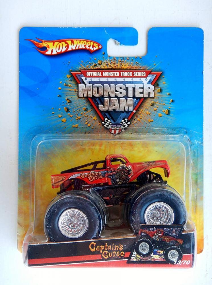 ホットウィール マテル ミニカー ホットウイール 【送料無料】Hot Wheels Captains Curse Monster Jam Truck 1:64 13/70ホットウィール マテル ミニカー ホットウイール
