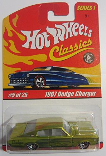 ホットウィール マテル ミニカー ホットウイール 1967 Dodge Charger Hot Wheels Classics Series 1 - Antifreeze 5 of 25ホットウィール マテル ミニカー ホットウイール