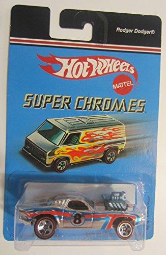 ホットウィール マテル ミニカー ホットウイール 【送料無料】Hot Wheels Super Chromes Rodger Dodger Collectible Collector Car Mattel 1:64 Scaleホットウィール マテル ミニカー ホットウイール