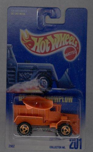 ホットウィール マテル ミニカー ホットウイール 【送料無料】Hot Wheels 1991-201 Oshkosh Snowplow Blue Card 1:64 Scaleホットウィール マテル ミニカー ホットウイール