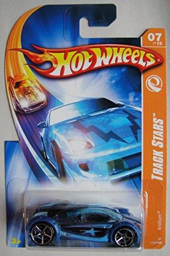 ホットウィール マテル ミニカー ホットウイール 【送料無料】HOT WHEELS TRACK STARS, BLUE IRIDIUM 7/12 5OSPホットウィール マテル ミニカー ホットウイール