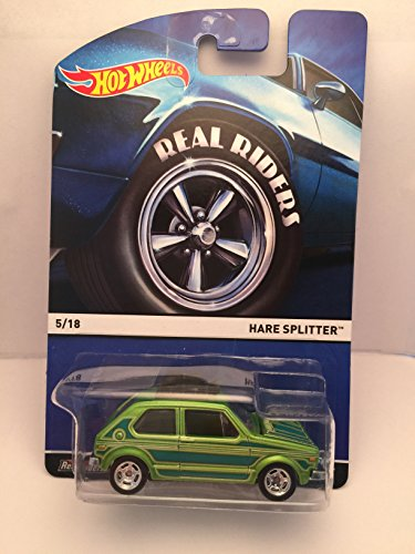 ホットウィール マテル ミニカー ホットウイール 【送料無料】Hot Wheels Real Riders #5/18 Hare Splitter - Die Castホットウィール マテル ミニカー ホットウイール