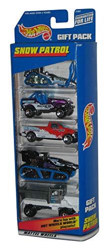ホットウィール マテル ミニカー ホットウイール 【送料無料】Hot Wheels Snow Patrol 5 Car Gift Packホットウィール マテル ミニカー ホットウイール