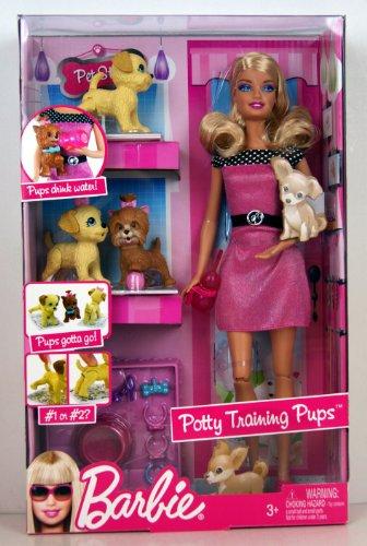 バービー バービー人形 日本未発売 R9514 Barbie Potty Training Pupsバービー バービー人形 日本未発売 R9514