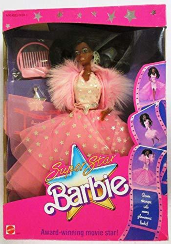 3308 1988 Mattel Hawthorne 3301 Asst Barbie Super Star Fashions Model Of The Year