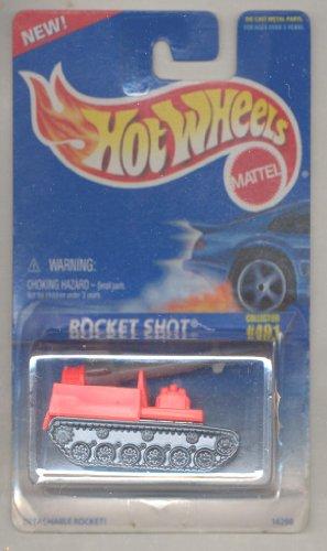 ホットウィール マテル ミニカー ホットウイール Hot wheels 1996-491 ORANGE Rocket Shot BLUE CARD 1:64 Scaleホットウィール マテル ミニカー ホットウイール
