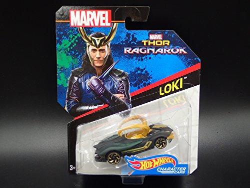 ホットウィール マテル ミニカー ホットウイール 【送料無料】Hot Wheels Marvel Character Car Loki (Thor: Ragnarok) Die-Cast Vehicleホットウィール マテル ミニカー ホットウイール