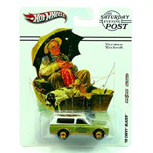 ホットウィール マテル ミニカー ホットウイール Hot Wheels 2012, The Saturday Evening Post, Norman Rockwell, '70 Chevy Blazer. 1:64 Scale Die cast.ホットウィール マテル ミニカー ホットウイール