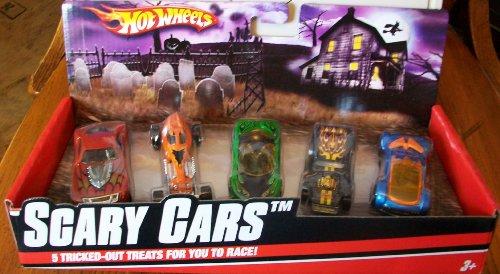 ホットウィール マテル ミニカー ホットウイール 【送料無料】2009 Hot Wheels Scary Cars 5 packホットウィール マテル ミニカー ホットウイール