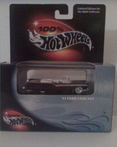 ホットウィール マテル ミニカー ホットウイール 100% Hot Wheels 57 Ford Fairlaneホットウィール マテル ミニカー ホットウイール