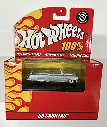 ホットウィール マテル ミニカー ホットウイール 【送料無料】Hot Wheels '53 CADILLAC 100% Collectable Die Cast Car 40th Anniversaryホットウィール マテル ミニカー ホットウイール