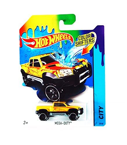 ホットウィール マテル ミニカー ホットウイール 【送料無料】Hot Wheels City Color Shifters Mega-Duty Truck Carホットウィール マテル ミニカー ホットウイール