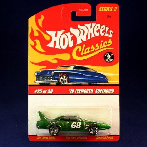 ホットウィール マテル ミニカー ホットウイール 【送料無料】Hot Wheels '70 Plymouth SUPERBIRD (Green) 2006 Classics 1:64 Scale Series 3 Die Cast Vehicleホットウィール マテル ミニカー ホットウイール