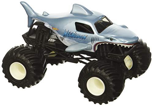 ホットウィール マテル ミニカー ホットウイール Hot Wheels Monster Jam Megalodon Vehicle, 1:24 Scaleホットウィール マテル ミニカー ホットウイール