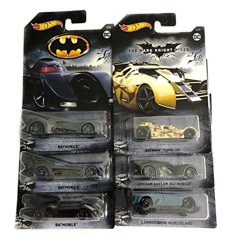 ホットウィール マテル ミニカー ホットウイール Hot Wheels 2018 Batman Bundle of 6 Die-Cast Vehicles, 1:64 Scaleホットウィール マテル ミニカー ホットウイール