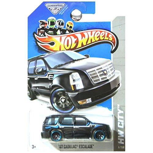 ホットウィール マテル ミニカー ホットウイール Hot Wheels 黒 '07 Cadillac Escalade Hot Wheels HW City Series 1:64 Scale Collectible Die Cast Metal Toy Car Modelホットウィール マテル ミニカー ホットウイール